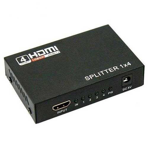 اسپلیتر 1 به 4 HDMI چهار پورت Royal