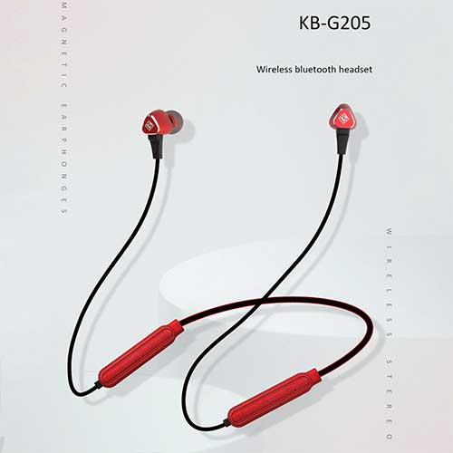 هدفون بلوتوث گردنی koluman مدل KB-G205