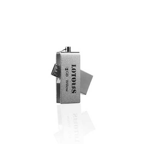 فلش OTG با ظرفیت 64 گیگ Lotous مدل Willow USB3.0