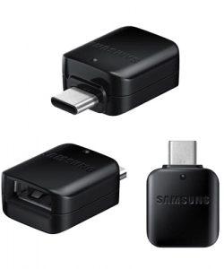تبدیل OTG پلاستیکی USB به Type-c سامسونگ